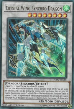 Crystal Wing Synchro Dragon