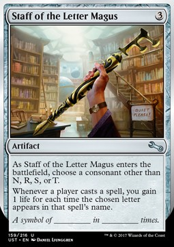 Staff of the Letter Magus