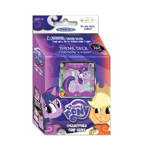 Premiere: Twilight Sparkle & Applejack Theme Deck