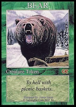 Bear Token (Green 4/4)