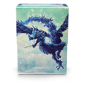 "Dragon Shield ""Celeste"" Clear Blue Deck Box"