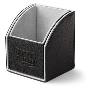 Dragon Shield Nest 100 Deck Box (Black/Light Grey)