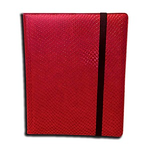 Dragon Hide 9-Pocket Binder (Red)