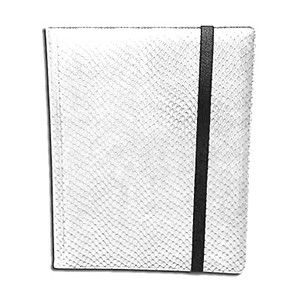 Dragon Hide 9-Pocket Binder (White)