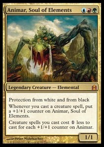 Animar, Soul of Elements (Version 1)