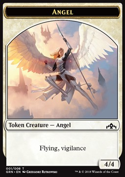 Angel Token (White 4/4 Vigilance)