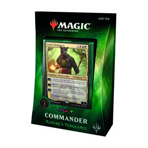 "Commander 2018: ""Nature's Vengeance"" Deck"