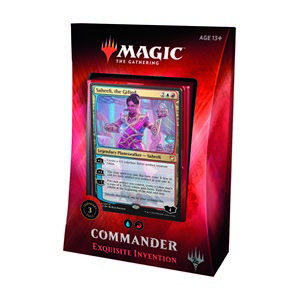 "Commander 2018: ""Exquisite Invention"" Deck"