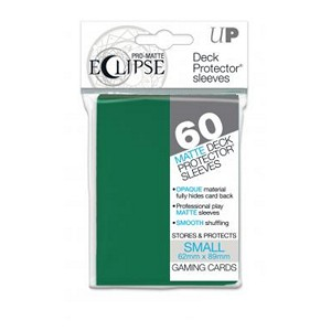 60 Small Ultra Pro Pro-Matte Eclipse Sleeves (Forest Green)
