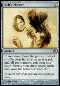 SPECCHIO DEL LICH LICH/'S MIRROR Magic ALA Mint