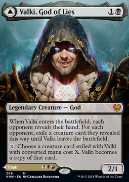 Valki, God of Lies // Tibalt, Cosmic Impostor (V.1)