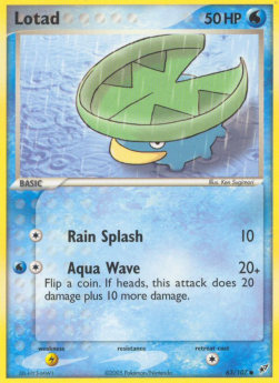 Lotad (Rain Splash)