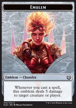 Chandra, Torch of Defiance Emblem