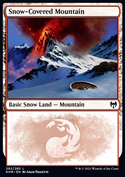 Snow-Covered Mountain (V.1)