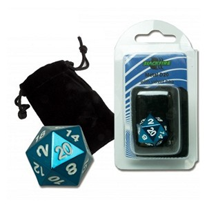 Blackfire Spindown D20 Die (Blue)