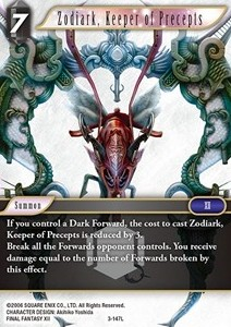 Zodiark, Keeper of Precepts (3-147)
