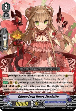 Choco Love Heart, Liselotte (Version 1 - Common)