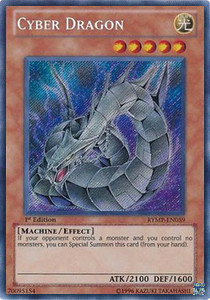 Cyber Dragon (V.1 - Secret Rare)