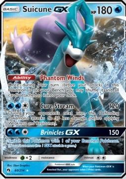 Suicune GX