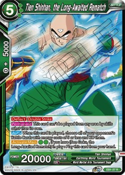 Tien Shinhan, the Long-Awaited Rematch