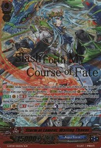 Storm of Lament, Wailing Thavas [G Format] (Version 2 - Super Generation Rare)