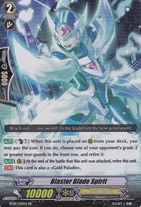 Blaster Blade Spirit [G Format] (Version 2 - Double Rare)