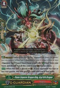 Flame Emperor Dragon King, Asyl Orb Dragon [G Format]