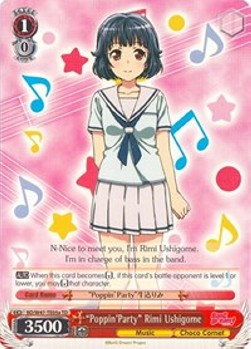 """Poppin'Party"" Rimi Ushigome (V.1 - Trial Deck)"