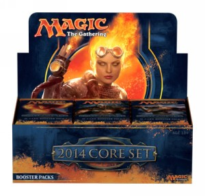 Caja de sobres de Magic 2014