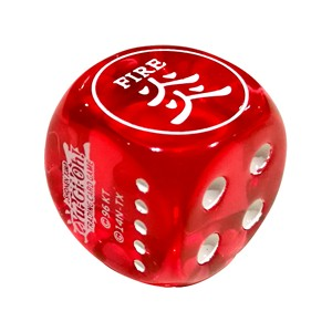 Attribute Dice (Fire)