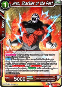 Jiren, Shackles of the Past