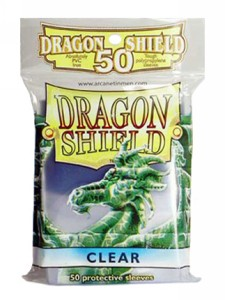 50 Dragon Shield Sleeves - Clear