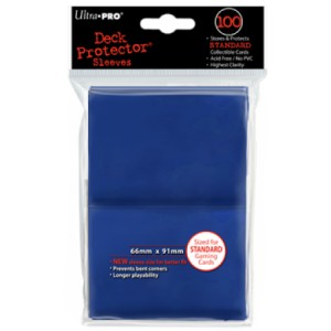 100 Ultra Pro Deck Protector sleeves (Blue)
