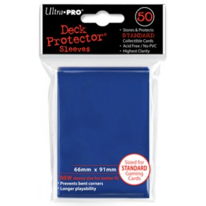 50 Ultra Pro Deck Protector Sleeves (Blue)