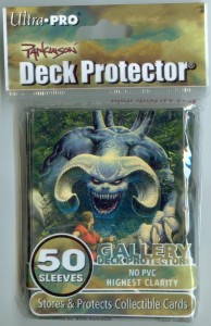 "Deck Protector Gallery: Keith Parkinson ""Monster"" Sleeves"