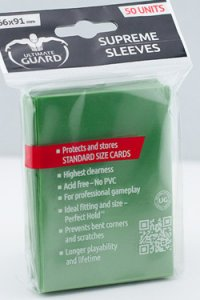 50 Ultimate Guard Supreme Sleeves (Green)