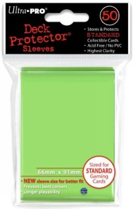 50 Ultra Pro Deck Protector Sleeves (Lime Green)