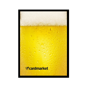 "50 Protèges Cartes Small Cardmarket ""Beer"""