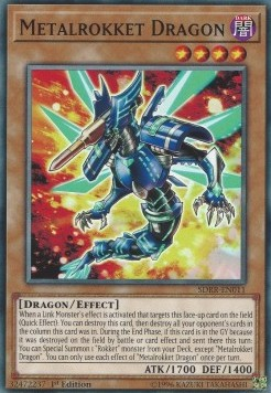 Metalrokket Dragon