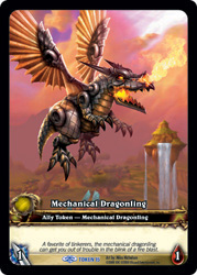Mechanical Dragonling Token