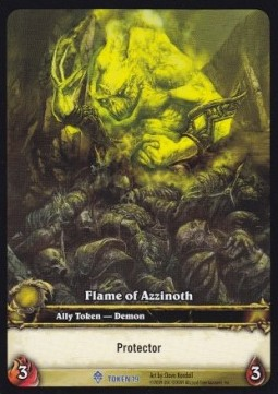 Flame of Azzinoth Token (Protector)