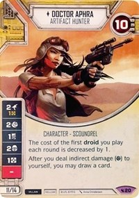 Doctor Aphra - Artifact Hunter