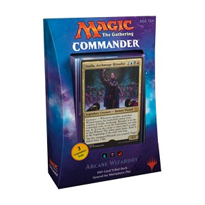 "Commander 2017: ""Arcane Wizardry"" Deck"
