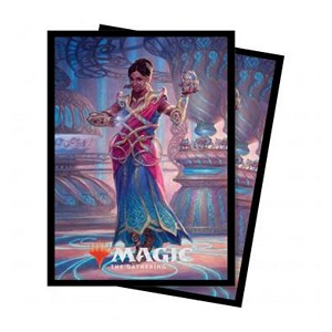 "Commander 2018: ""Saheeli, the Gifted"" Sleeves"