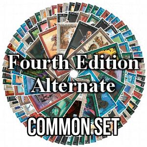 Fourth Edition: Alternate: Common Set
