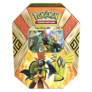 Island Guardians Tins: Tapu Koko GX Tin-Box