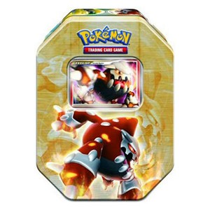 2008 Holiday Collector's Tins: Heatran LV.X Tin