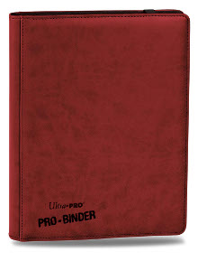 Ultra Pro Premium Pro Binder 9-Pocket Binder (Red)