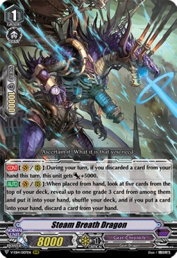 Steam Breath Dragon (V.1 - Triple Rare)