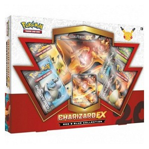 Red & Blue Collections: Charizard EX Red & Blue